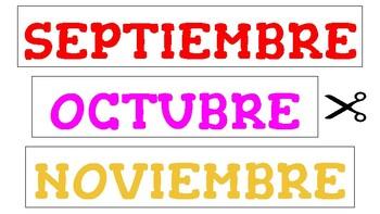 """Printable """"Los meses del año"""" ¡Actividades y juegos para aprender!"""