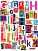 Printable Magazine Letter Cutouts, Set 2, Alphabet a-z: Word Work, Literacy