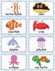 Printable Marine Life Bingo Game