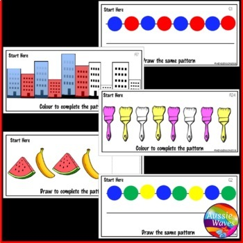 Printable Math Center Activity Counting Numbers 0-20 Number Patterns
