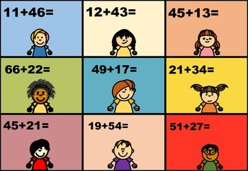 Printable Math Game Cards! addition, subtraction.