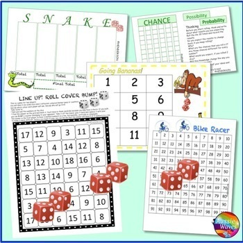 Math Games BUNDLE for Elementary Students