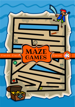 Printable Maze Game Activities