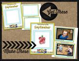 Printable Memory Book Spread {September Bus Kids}