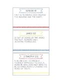 Printable Memory Verse Cards (NKJV) Set A
