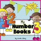 Number Books for Numbers 1-10