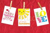 Printable Mini Valentines For Kids, Kiddy Valentines, Vale