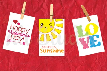 Printable Mini Valentines For Kids, Kiddy Valentines, Vale