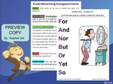 Printable Mnemonics: Coordinating Conjunctions