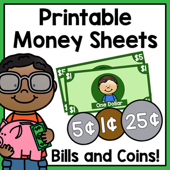 graphic about Printable Money for Classroom named Printable Financial Sheets - Clroom Overall economy