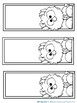 Printable Monster Bookmarks to Color