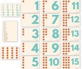 Printable Montessori Number Flash Cards 1-20