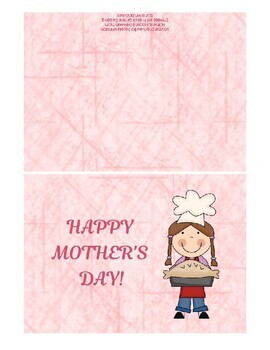 Printable Mother's Day Cards