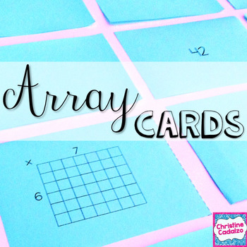 image relating to Printable Multiplication Cards named Printable Multiplication Flash Playing cards- Arrays