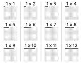 Printable Multiplication Flashcards w/ Arrays