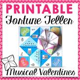 Printable Music Valentines