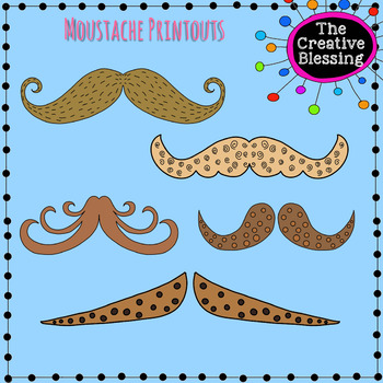 graphic about Printable Mustaches named Printable Mustaches