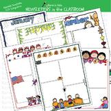 NEWSLETTERS in the CLASSROOM (Karen's Kids Editable Printables)
