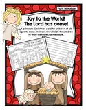 Printable Nativity Christmas Card