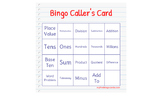 Printable ---- New! 31 Math Bingo Sheets
