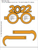 Printable New Year's Glasses (2018) Activity