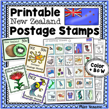 picture relating to Stamps Printable referred to as Printable Fresh new Zealand Postage Stamps