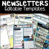 Printable and Editable Newsletter Templates