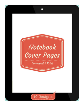 Printable Notebook Cover Pages