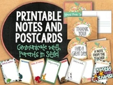 Printable Notes and Postcards from the Teacher - Communica