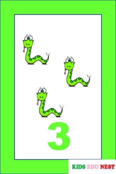 Printable Number Flash Cards
