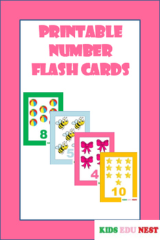 Printable Number Flash Cards
