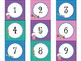 Printable Number Labels in Candy Shop Theme 1-30