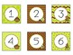 Printable Number Labels in Monkey Theme