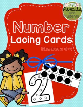 Printable Number Lacing Cards