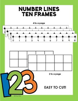 Number Lines & Ten Frames