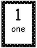 Printable Number Wall 1-5