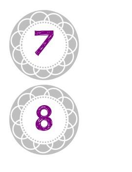 Printable Numbers 1-30 by ACraftyTeacher | Teachers Pay ...