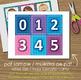 Numbers - English - Matching Cards - DIY Memory Game - Kid
