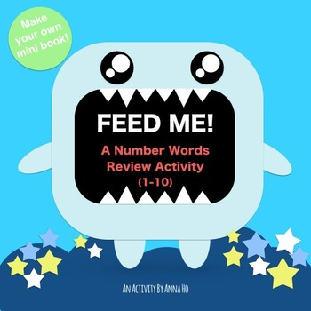 Printable Numbers Sight Word Review Activity (1-10) - Feed