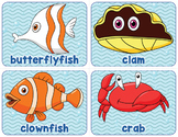 Printable Ocean Animal Word Wall
