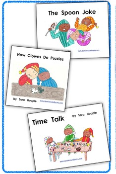 Printable Online Subscription to Clownin' 'Round Readers Book Club