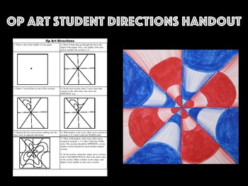 Printable Op Art Student Directions Handout