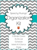 Organization Kit Freebie: To-Do List, Schedule, Weekly Ove