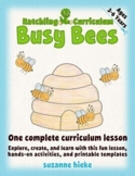 Bee Lesson: Pre-Writing and Number Activities