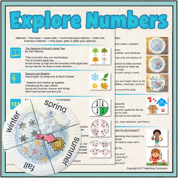 Printable PDF- Explore Nifty Numbers! 10 Preschool Curricu