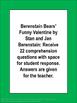 Berenstain Bears Funny Valentine Literacy Unit