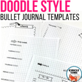 Bullet Journal for Students Planner Pages, Bujo