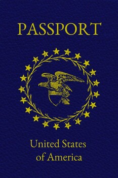 picture relating to Passport Printable referred to as Printable Pport Card 4x6