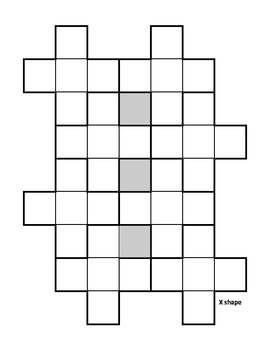 Printable Pentominoes with Information and Pattern Cards