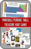Printable Periodic Table Treasure Hunt Game